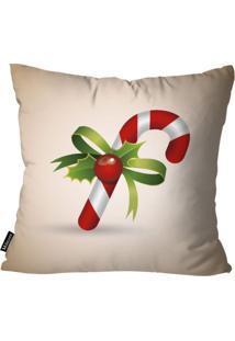 Capa Para Almofada Mdecor De Natal Bege
