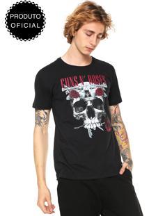 Camiseta Bandup! Guns N'Roses Preta