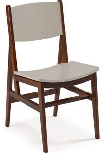 Cadeira Dumon 87 Cm 951 Cacau/Marrom Claro - Maxima