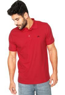 Camisa Polo Rusty Basic Vermelha
