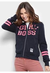 Jaqueta Moletom Facinelli Girl Boss Feminina - Feminino