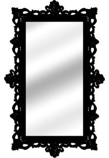 Espelho De Parede 14848P Preto 70X110 Art Shop