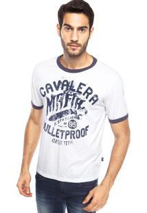 Camiseta Cavalera Bullet Proof Branca