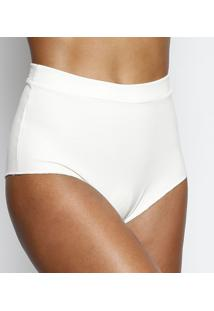 Calcinha Hot Pant Texturizado- Brancajohn John