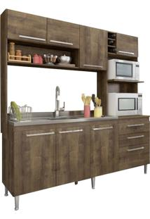Cozinha Compacta Casamia Blume, Dark 173