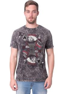 Camiseta Royal Brand Neon King
