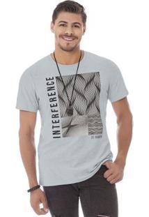 Camiseta Flamê Cinza