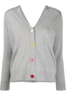 Ps Paul Smith Cardigan Com Botões - Cinza