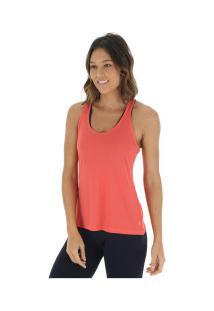 Camiseta Regata Campeão Oxer Jogging New - Feminina - Coral