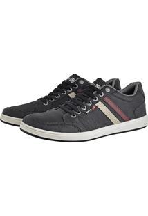 Sapatênis Cr Shoes Com Elástico Leve Lançamento Preto