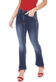 Calça Jeans Carmim Bootcut Ucrania Azul