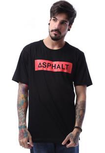 Camiseta Asphalt Red Square Masculina - Masculino