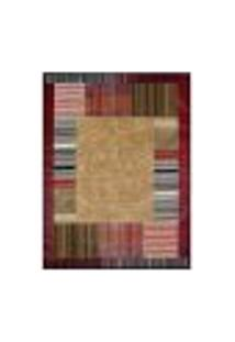 Tapete Retangular Veludo Marbella Illusione Depouille Caramelo 48X90 Cm
