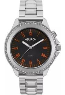 Relógio Euro Feminino Analógico Eu2036Ynd/4P - Unissex-Prata