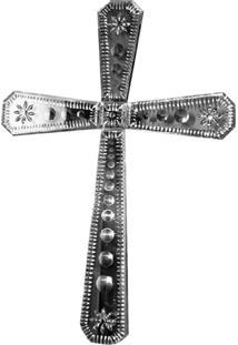 Espelho Cruz Veneziano Bisotado Decorativo Sala Quarto Als 65