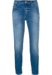 Closed Washed Skinny Jeans - Azul