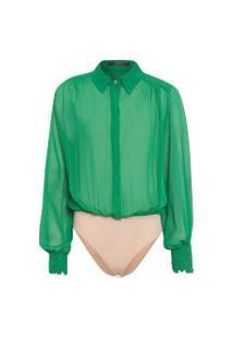 Body Feminino Amazon - Verde