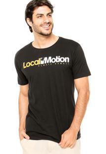 Camiseta Local Motion Hi Standard Preta