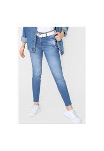 Calça Jeans Colcci Skinny Kim Azul