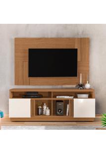 Bancada Colibri Itapuã Com Painel Delfos Ideal Para Tv De Até 55 Po.