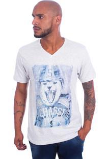 Camisa Chassi Leão Branca