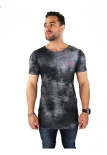 Camiseta Wolke Oversized Sublimada Smoke Sky