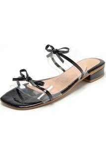 ec0cc299e R$ 89,90. Dafiti Tamanco Dafiti Shoes Laço Preto