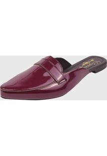 Moule Estilo Italiano Elegance Calçados Verniz Marsala