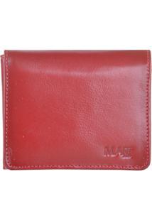 Carteira M.Art 60V - Masculino-Vermelho