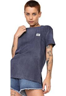 Camiseta Hang Loose Logo Azul-Marinho