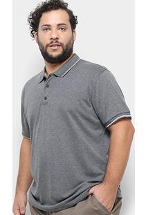 Camisa Polo Broken Rules Poá Plus Size Masculina - Masculino