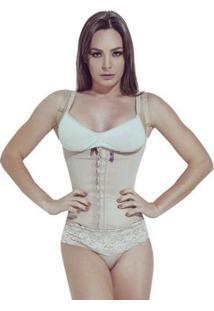 Corselet Modelador Feminina - Feminino-Nude