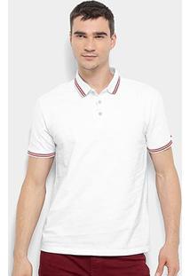 Camisa Polo Calvin Klein Listras Masculina - Masculino
