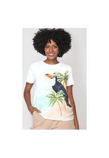 Camiseta Lez A Lez Tucano Branca/Verde