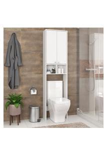 Armário Nicho Para Banheiro 2 Portas Fellicci Móveis Gb15 Branco