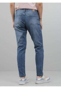 Calça Feminina Jeans Skinny Azul