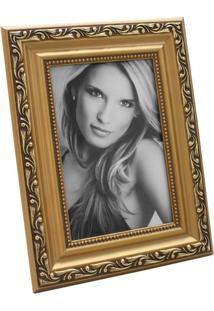Porta Retrato 15X20Cm Provençal Dourado Para 1 Foto 10X15Cm