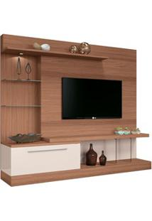Estante Home Theater Para Tv Até 60 Pol. Allure Nature/Off White - Hb