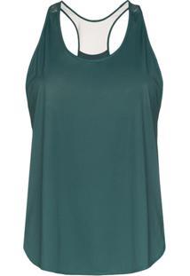 Nimble Activewear Regata Com Mesh Posterior - Verde