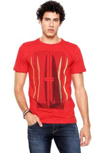 Camiseta Redley Pranchas Vermelha