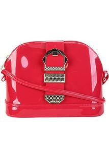 Bolsa Petite Jolie Mini Bag Mind Bag Feminina - Feminino-Vermelho