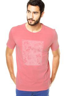 Camiseta Vr Reta Rosa