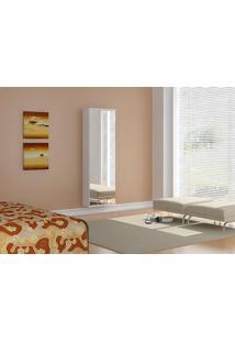 Sapateira Itajai 221082 Cor Branco Brilho - 9607 - Sun House