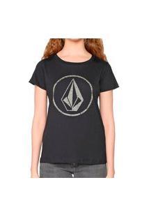 Camiseta Volcom So Far Out Preto