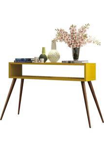 Aparador Decorativo Lyam Decor Lara Amarelo