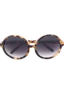0ef513ac1b0b5 Óculos De Sol Estampado Oversized feminino   Gostei e agora