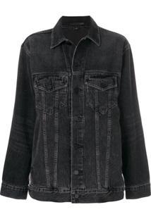 Alexander Wang Jaqueta Jeans 'Daze' - Preto