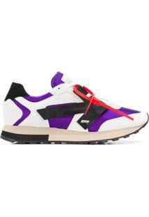 Off-White Hg Runner Low Top Sneakers - Branco