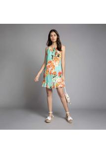 Vestido Com Alça Estampa Smiths Beach - Lez A Lez