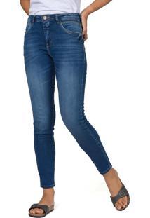 Calça Jeans Slim Premium Stone